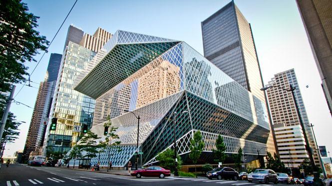 01 Seattle Public Library Rem Koolhaas