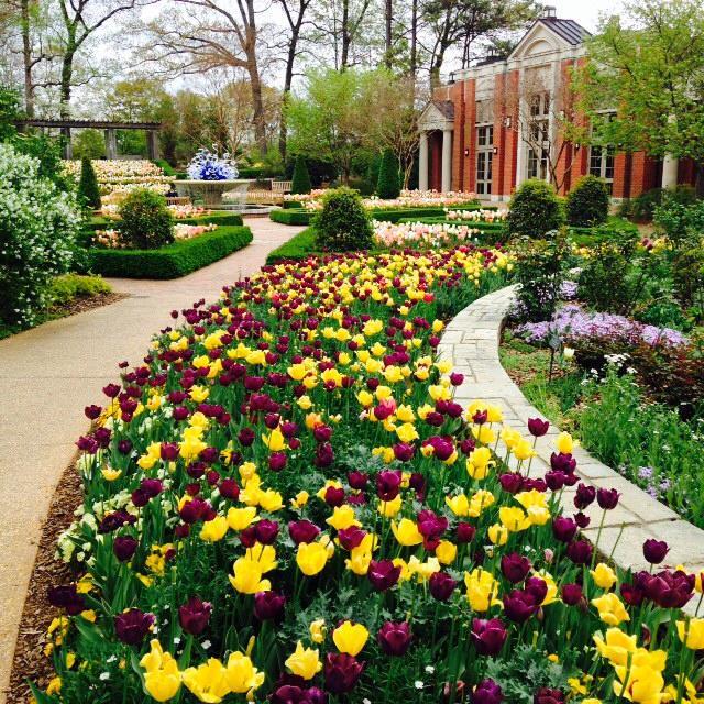 Atlanta Botanical Garden Skyline Gardens: 12 Must See Botanical Gardens In The U.S.